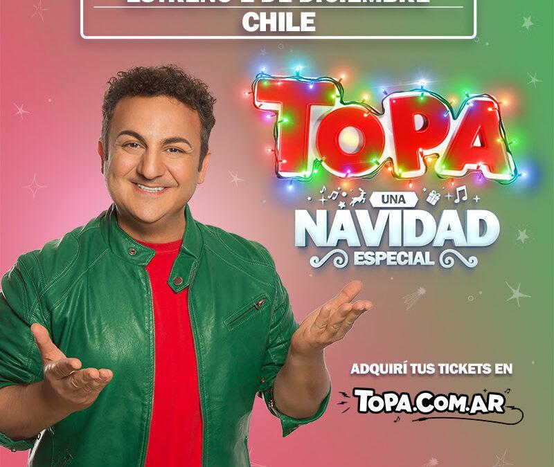 """LLEGA """"TOPA, UNA NAVIDAD ESPECIAL"""", UNA EXPERIENCIA MULTIMEDIA ÚNICA EN CHILE, LLENA DE MAGIA Y ALEGRÍA"""